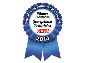 Georgetown Pediatrics named Best of North Fulton 2014