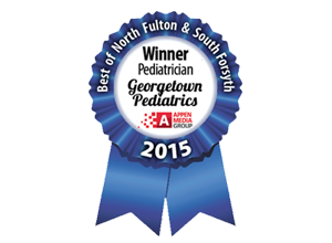 Georgetown Pediatrics named Best of North Fulton 2015
